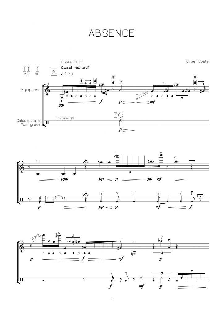 Solo de xylophone