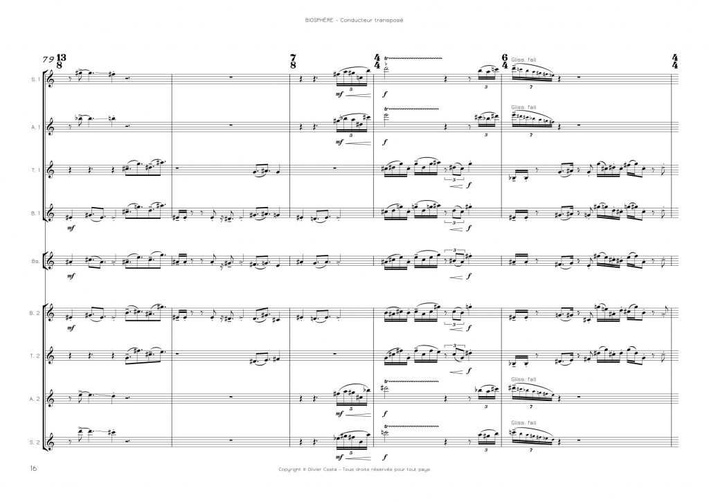 Ensemble de saxophones
