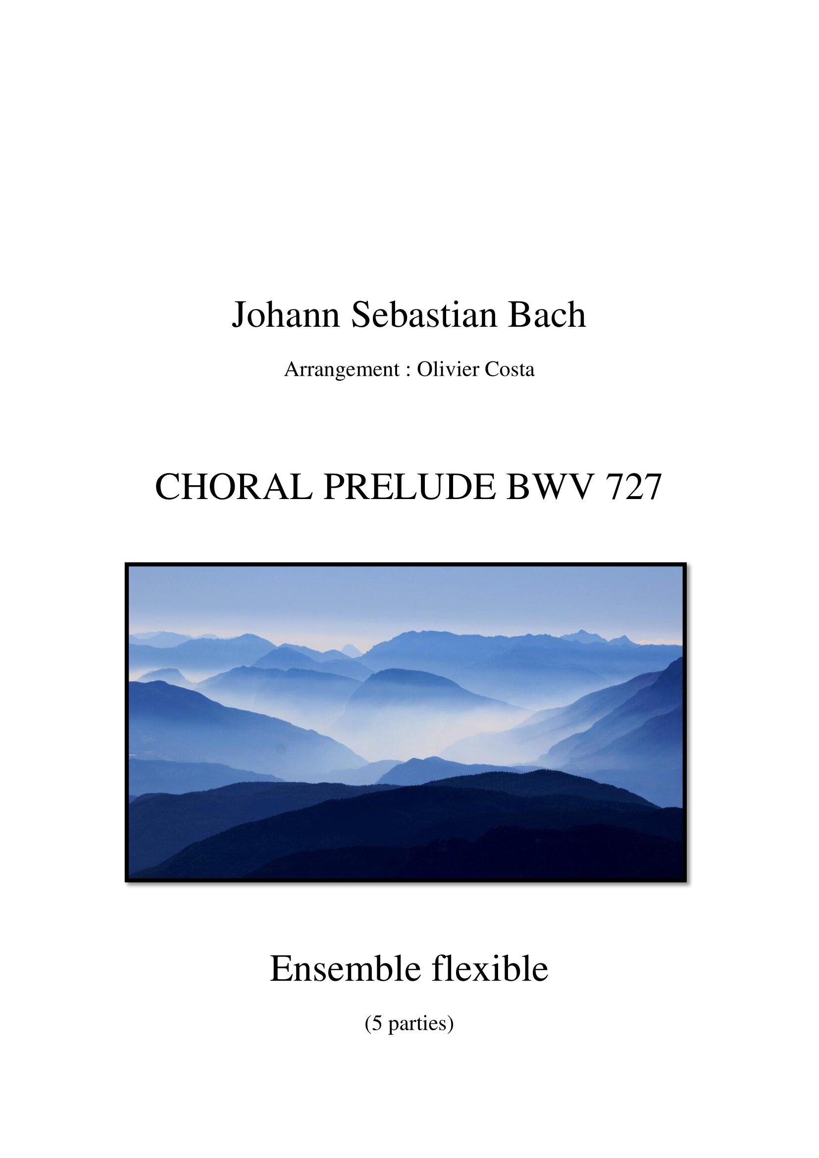 Choral bwv 727 - Flexible