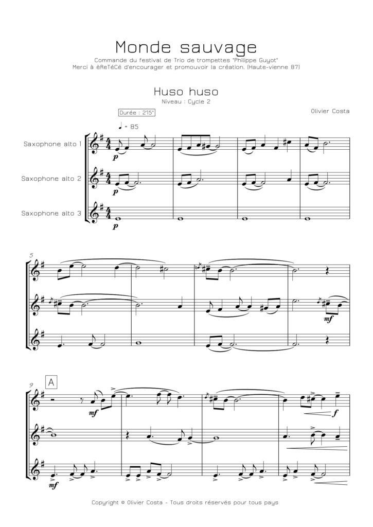 Trios de saxophones